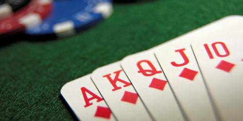 De 52 kaarten in een stapel speelkaarten