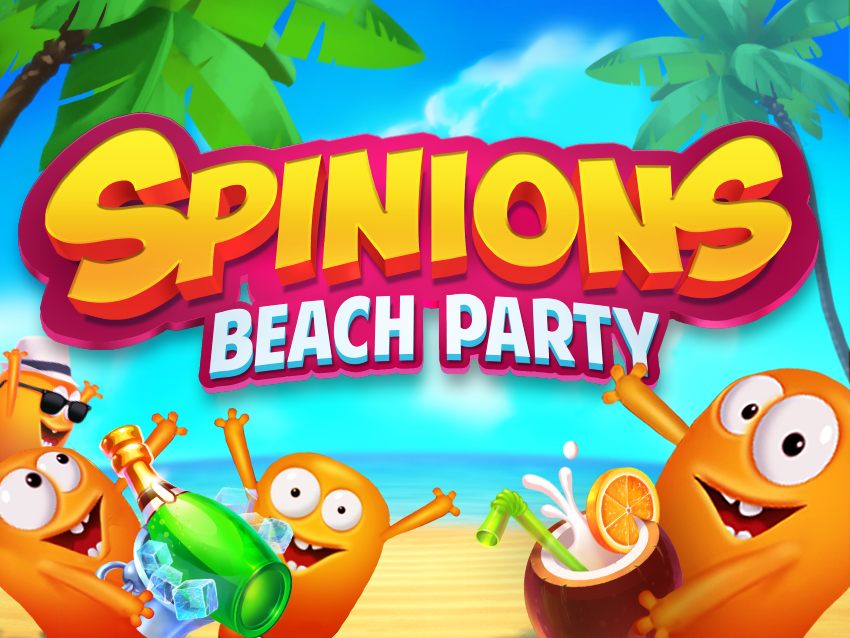 Spinions Beach Party van Quickspin